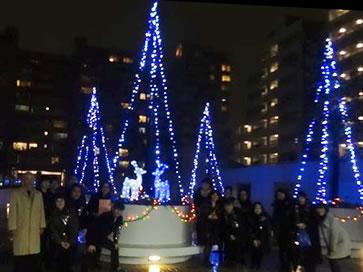 121215グランパティオス 公園西の街クリスマスライヴ